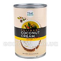 """Кокосовые сливки """"Thai Coco"""" 400 мл, Таиланд"""