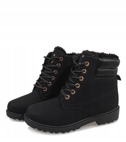 Женские ботинки от производителя зимние чёрного цвета