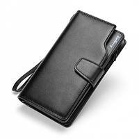 Мужской кожаный клатч Baellerry businness, портмоне, кошелек, гаманець. Новинка!