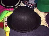 Женская фетровая шляпка разные цвета