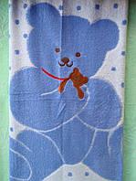 Детское махровое полотенце , простынь , плед 110х110 см, фото 1