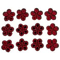 3828 Прикраса. Червоні квіти