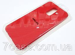 Чехол для Samsung Galaxy A6+ A605 2018 силиконовый Molan Cano Jelly Case матовый красный