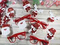 Новогодние очки в ассортименте