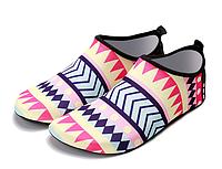 Коралки, обувь для дайвинга, пляжа Coral Fly (аквашузы) розовые