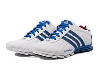 Кроссовки Adidasадидасмужские кожаные белые 40, 41, 42, 43, 44, 45 р