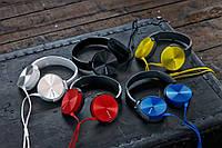 Акция!!! Наушники Extra Bass MDR-XB450 AP золотые,черные,синие,красные