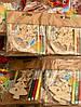 Новогоднее Украшение Деревянное Эко Сделай Сам Набор с Фломастерами 12 шт в упаковке, фото 6