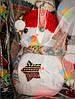 Новогоднее Украшение на Елку Снеговик в Шапочке и Шарфике Эко Игрушка 6 шт в Упаковке, фото 3