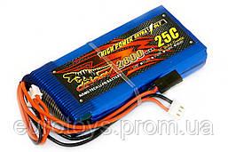 Аккумулятор для радиоуправляемой модели Dinogy Li-Pol 2800 мАч 7.4 В 94x43x17 мм JST-XH 25C
