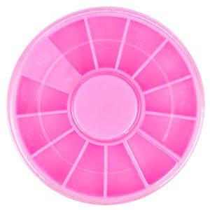 Карусель 37348 круглая (12 секций) розовая d=60мм 1шт, фото 2