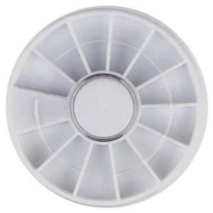 Карусель 52700 круглая (12 секций) белая d=60мм 1шт, фото 2