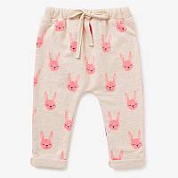 Детские штаны для девочки Розовый кролик Jumping Beans