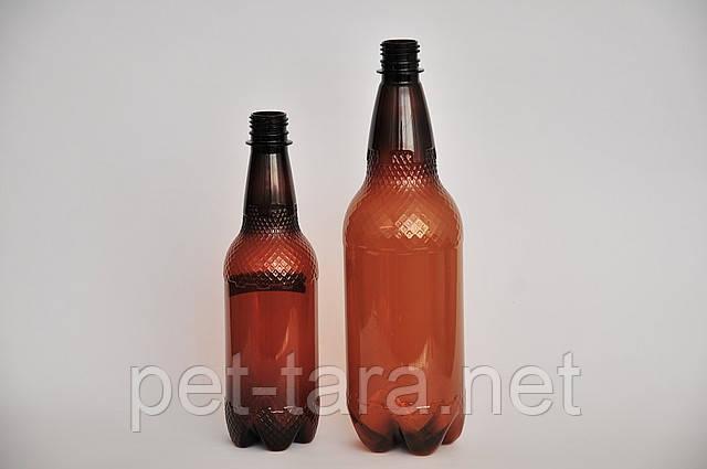 Пластикова тара пляшка 0.5 л, 1л