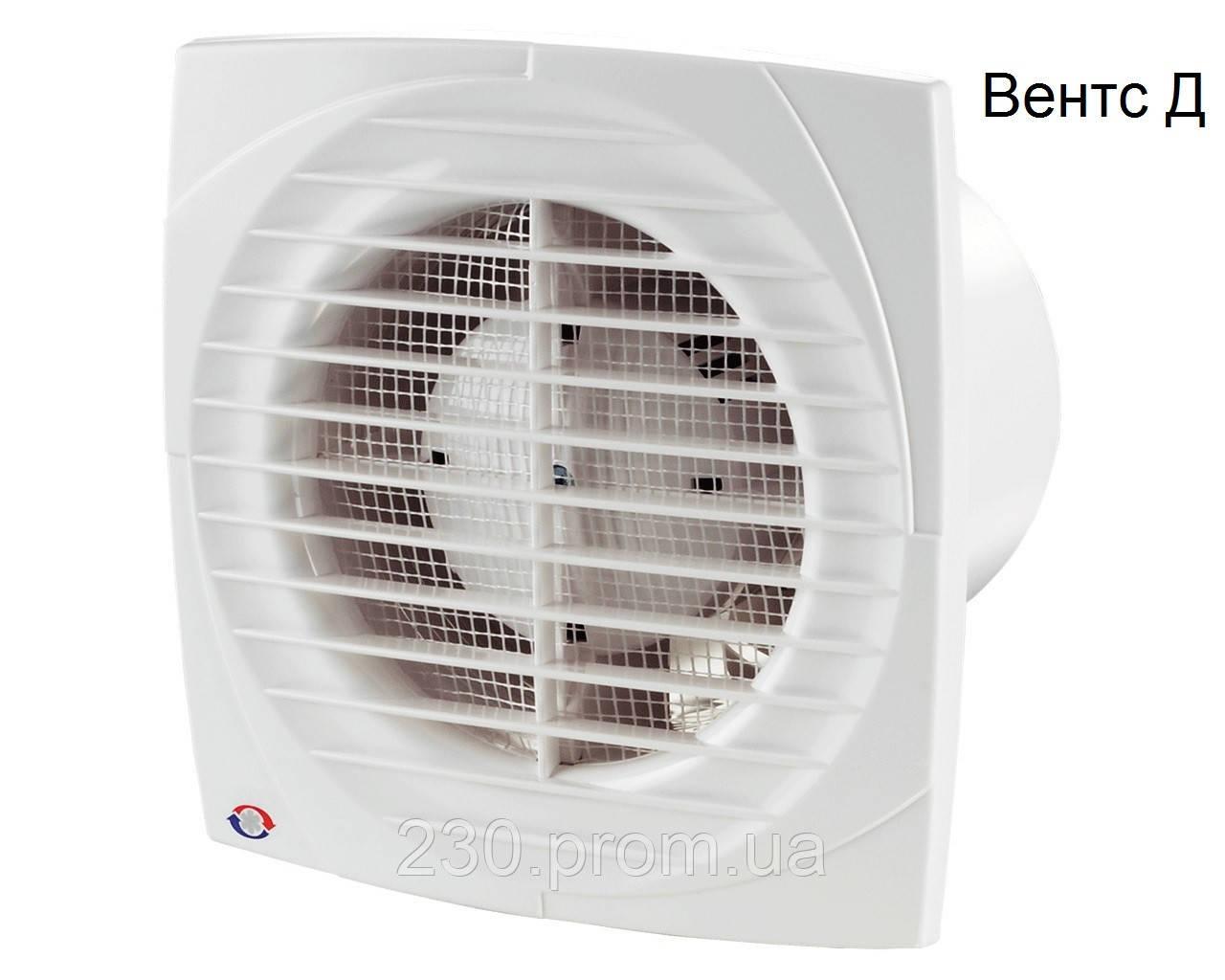 Вентилятор вентс 100 Д Л на подшипниках