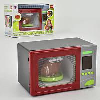 Микроволновка 14002 (36/2) свет, звук, на батарейках, в коробке