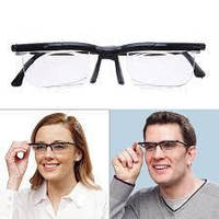 e4164366bc64 Очки универсальные для зрения Dial Vision черные, регулируемый носовой  упор, унисекс, от минус