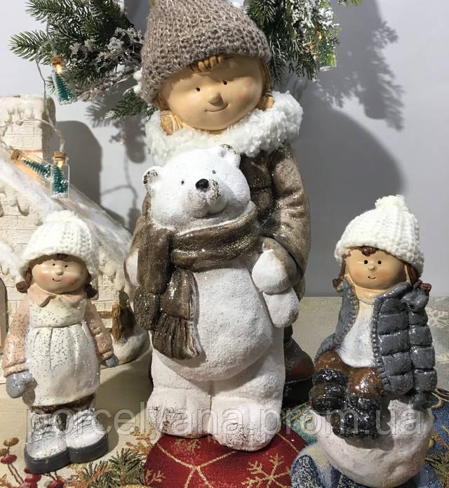 Фигурки для новогоднего декора