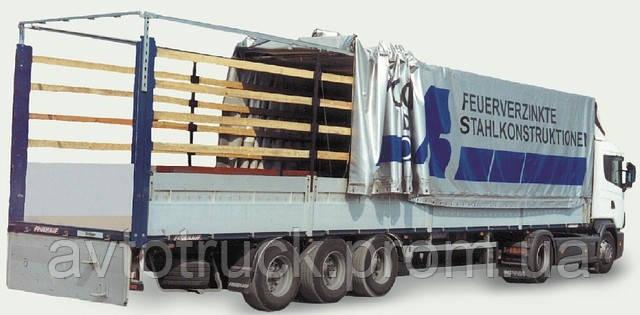 Механизм сдвижной крыши в комплекте. Длина 13,27-13,65 метра.
