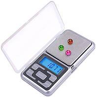 Электронные весы Покэт Скейл (Pocket Scale) MH 200, ювелирные карманные весы, фото 1