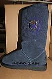Угги синие натур.замша 36,37,38,41 р  арт 5817-2., фото 8