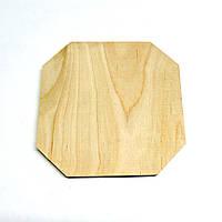 Фанерная основа для декорирования 15х15 без отделки