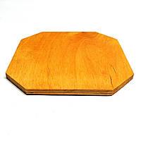 Фанерная основа для декорирования 20х20 карри