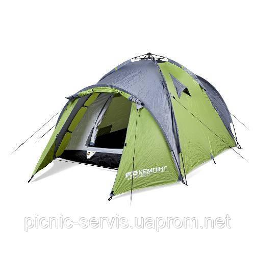 Transcend 3 easy-click трехместная палатка Кемпинг полуавтомат два входа