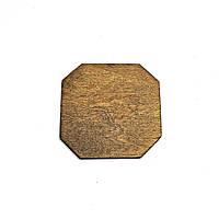 Фанерная основа для декорирования 15х15 капучино