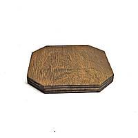 Фанерная основа для декорирования 20х20 капучино