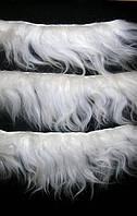 Волосы исландской овцы на шкурке. Ед. измерения 5*10 см.  Длина волос 18-22 см.