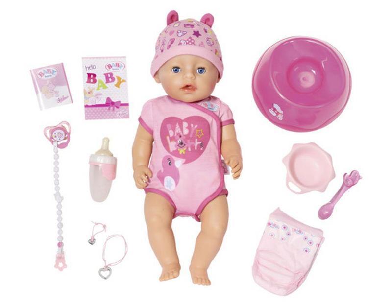 Пупс Baby Born - Беби Борн Нежные объятия. Очаровательная малышка (824368)