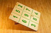 Доска с цифрами, фото 1