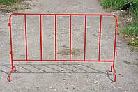 Барьерное дорожное переносное ограждение, фото 1