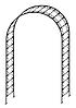 Декоративная арка для растений