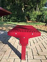 Лавка анитивандальная без спинки, фото 1