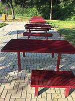 Антивандальный металлический стол, фото 1