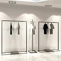 Стойка для одежды в магазин, фото 1