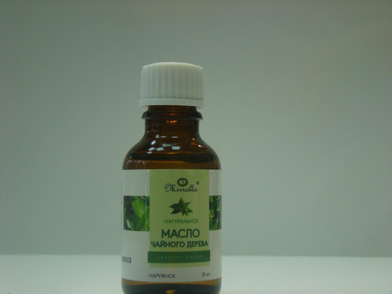 Эфирное масло чайного дерева Мирролла 25мл (4650001791139)