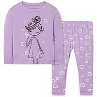 Пижама детская из хлопка Девочка Wibbly pigbaby 7286c22e15aee