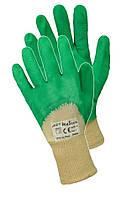 Перчатки защитные прорезиненные RGSE green (тм ArtMaster), фото 1
