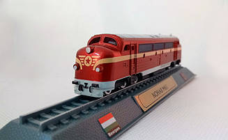 Модель Локомотиви Світу (DeAgostini) №01 Nohab M61 Дунайський експрес 1:145