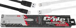 USB cable Remax FullSpeed RC-001i lightning 2m (белый)