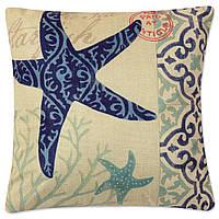 Подушка декоративная Морская звезда 45 х 45 см Berni