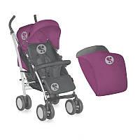 Коляска прогулочная Bertoni S 100 Pink&Gray Lorelli