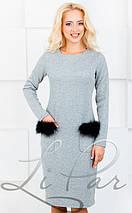 Женское платье в мелкую стежку (698 lp), фото 2