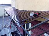 Монтаж, установка, ремонт козырьков и навесов, фото 7