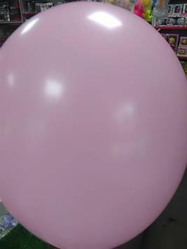 Воздушный шар 12 дюймов розовый 1шт