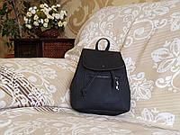 Женский рюкзак городской, чёрный (с маленьким дефектом), фото 1