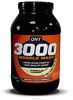 Гейнер QNT 3000 Muscle Mass 1.3 kg, фото 1